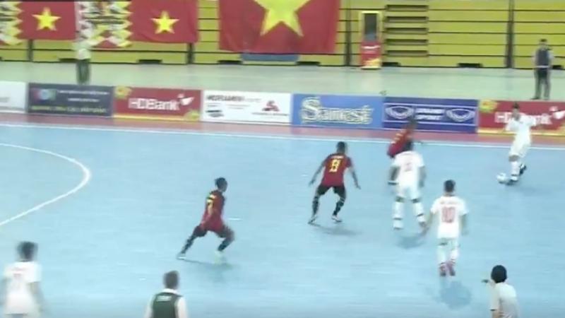หมดเวลาการแข่งขัน! ทีมชาติติมอร์ เลสเต 1-12 ฟุตซอลทีมชาติไทย