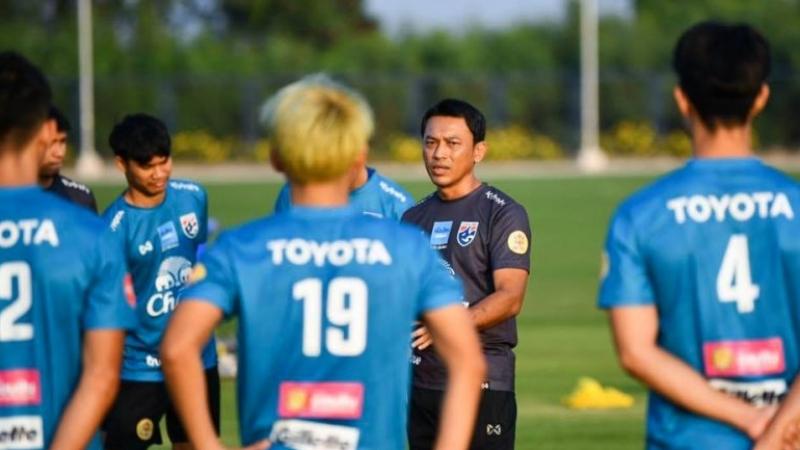 """โค้ชธชตวัน ศรีปาน พูดถึงความพร้อม """"ทีมชาติไทย U23"""" ก่อนดวล ทีมชาติจีน"""