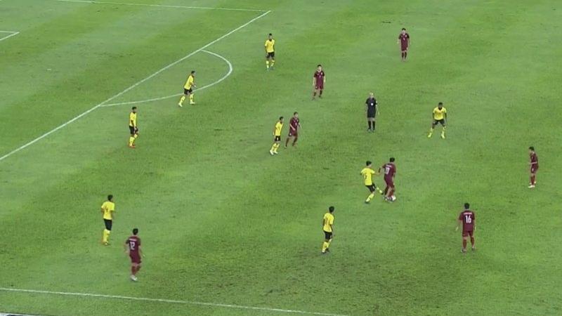 จบ 45 นาทีแรก! ทีมชาติมาเลเซีย 1-1 ทีมชาติไทย
