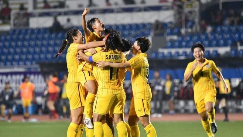 ฟุตบอลหญิงทีมชาติไทย ทุบเมียนมา ทะลุชิงเหรียญทองซีเกมส์