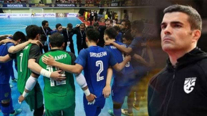 """ฟุตซอลทีมชาติไทย ลงสนามพบ กัวเตมาลา """"ศึกพีทีที ไทยแลนด์ ไฟว์ 2019"""" วันนี้!!!"""