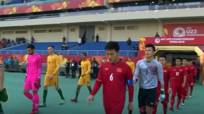 ชมกันอีกครั้งก่อนเจอไทย ไฮไลท์ U23 ชิงแชมป์เอเชีย เมื่อทัพดาวทอง ทีมชาติเวียดนาม ต้องพบกับยักษ์เอเชียอย่าง ทีมชาติออสเตรเลีย