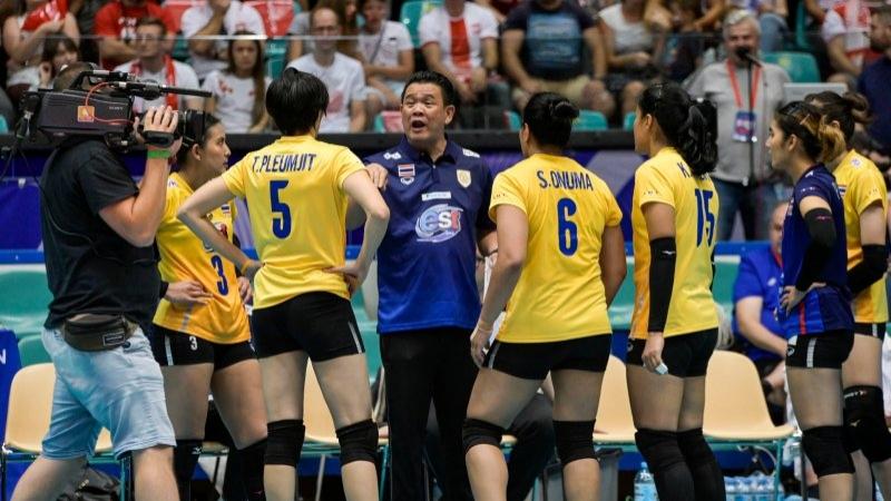 """โปรแกรมถ่ายทอดสด การแข่งขันของ """"ทีมชาติไทย"""" ศึกวอลเลย์บอลหญิง โอลิมปิกเกมส์ 2020 รอบคัดเลือกโซนเอเชีย"""