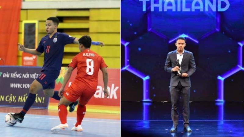 มูฮัมหมัด อุสมานมูซา ดาวยิงทีมชาติไทย เผยความรู้สึกหลังถูกเลือกให้คว้ารางวัล นักกีฬายอดเยี่ยม ฟุตซอลชายแห่งปี FA Award 2019