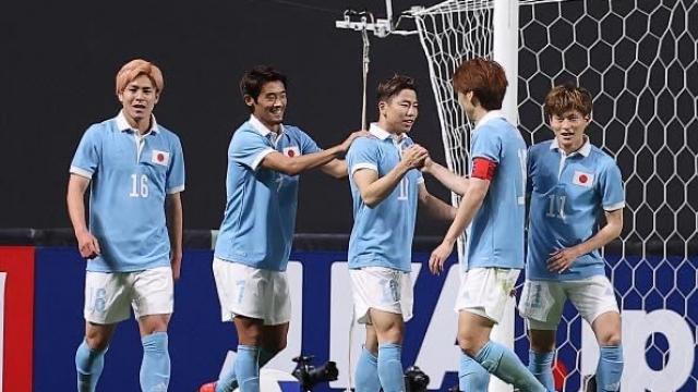 ทีมชาติญี่ปุ่น จารึกประวัติศาสตร์เอเชีย 3 จาก 5 ระดับ A แมตช์