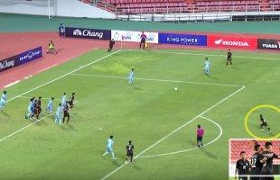 """โหดตั้งแต่นัดแรก! """"ช้างศึก"""" ทีมชาติไทย U16 ถล่มทีมชาติหมู่เกาะนอร์เธิร์นมาเรียนา 10-0 ในศึกฟุตบอลชิงแชมป์เอเชีย รอบคัดเลือก นัดแรก"""