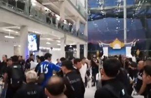 """แฟนบอลแห่ต้อนรับ! บรรยากาศ """"ทัพช้างศึก"""" ทีมชาติไทย เดินทางถึงประเทศไทย หลังเสร็จสิ้นภารกิจเอเชียน คัพ 2019"""