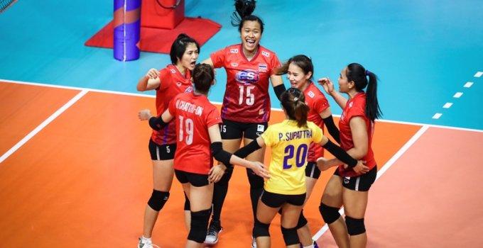 ยิงสดวันนี้!! วอลเล่ย์บอลหญิงทีมชาติไทย เตรียมลงสนามพบกับ ทีมชาติบราซิล ศึกเนชันส์ ลีก 2019 สนาม 4 นัดแรก