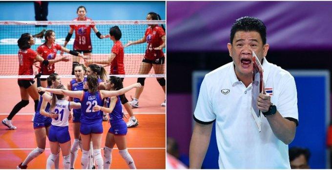 """""""โค้ชด่วน - นุศรา"""" เปิดใจหลังทีมชาติไทย ไล่อัดเอาชนะทีมชาติเซอร์เบีย"""