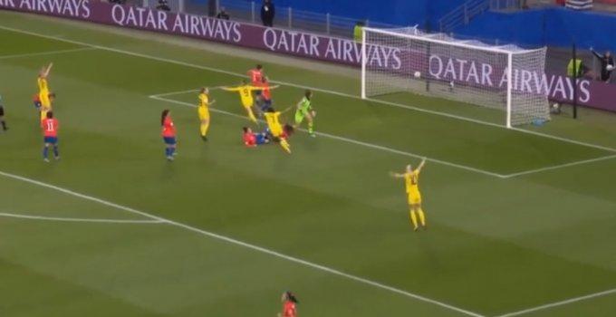 นัดต่อไปเจอไทย!!! ไฮไลท์ ฟุตบอลหญิงชิงแชมป์โลก 2019 ทีมชาติสวีเดน 2-0 ทีมชาติชิลี