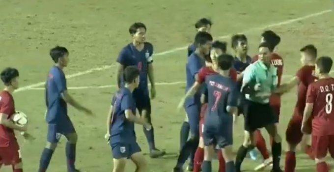 ไฮไลท์มาแล้ว ทีมชาติเวียดนาม VS ทีมชาติไทย U18