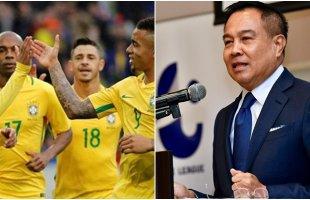 ของจริง! นายกส.บอลไทย พูดถึงเกมอุ่นเครื่องกับทีมชาติบราซิล ชุดใหญ่ที่สิงคโปร์
