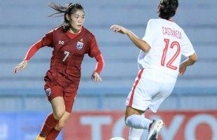 หมดเวลาการแข่งขัน! ฟุตบอลหญิงทีมชาติไทย 4-2 ทีมชาติฟิลิปปินส์