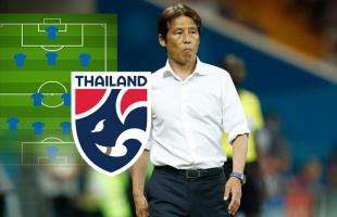"""รายชื่อ 11 ตัวจริง """"ทีมชาติไทย"""" ที่คาดจากการประกาศ 33 รายชื่อของ อากิระ นิชิโนะ ภายใต้ระบบ 4-2-3-1"""