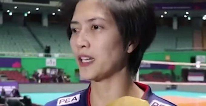 """""""ปลื้มจิตร์"""" เปิดใจหลังทีมวอลเล่ย์บอลสาวไทย คว้าตั๋วคัดโอลิมปิก รอบ 2"""