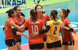 ทีมวอลเลย์บอลสาวไทย เตรียมดวลทีมชาติอิหร่าน ศึกชิงแชมป์เอเชีย รอบ 2 นัดแรก!!!